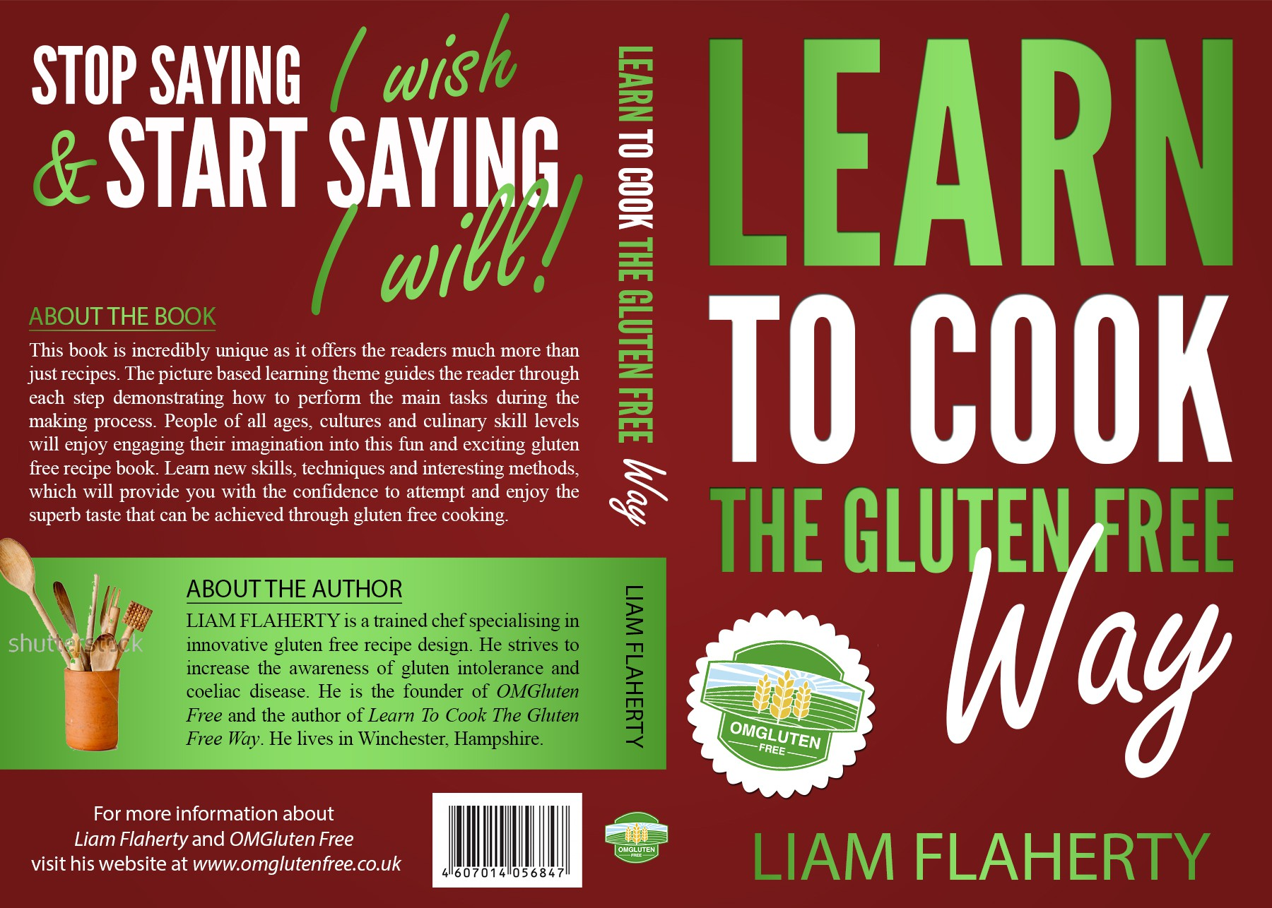 CREATE A UNIQUE COVER FOR A GLUTEN FREE COOKBOOK THAT CAPTURES THE IMAGINATION OF ALL FOOD LOVERS!