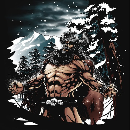 viking god of winter