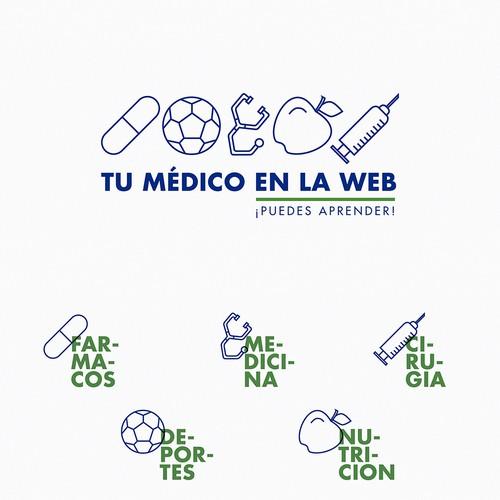 Blog logo + icons