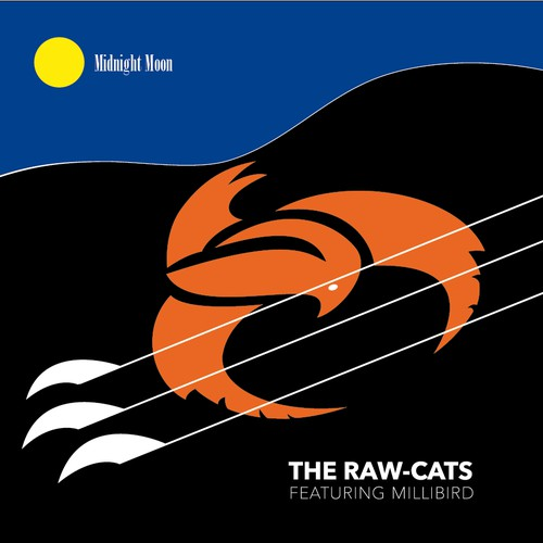Album Cover Artwork for THE RAW-CATS