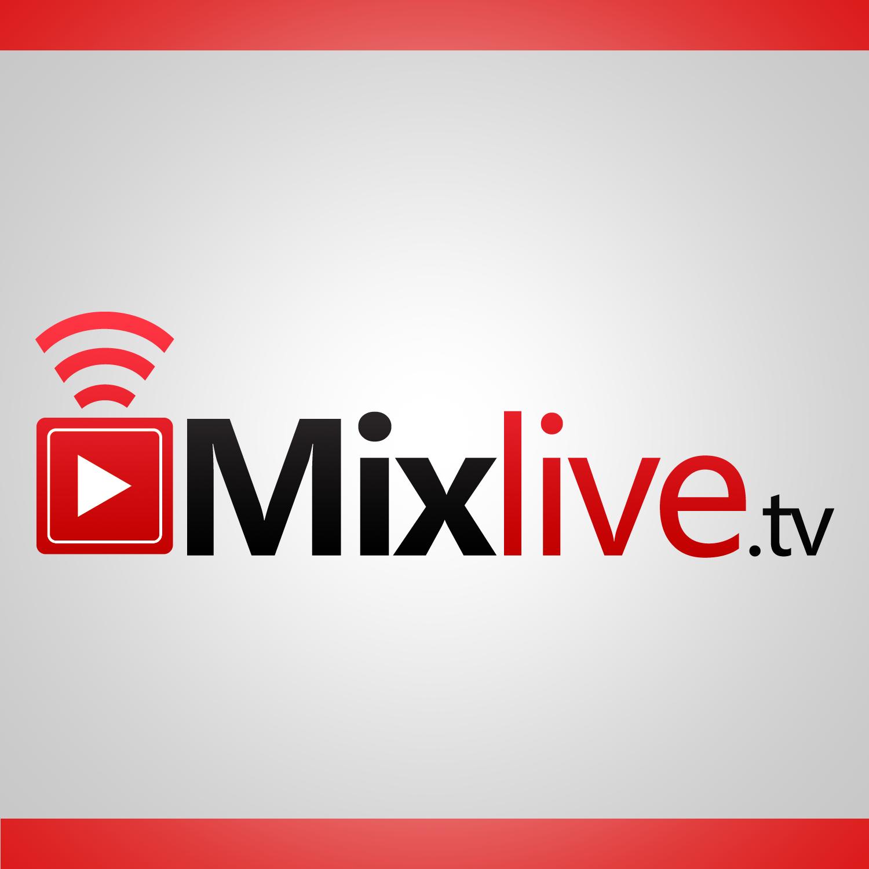 Logo Design for MIXLIVE.TV - A new live streaming website for DJs!