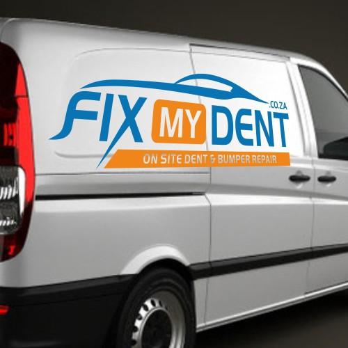 A Logo for Fix My Dent