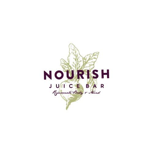 logo for juice bar