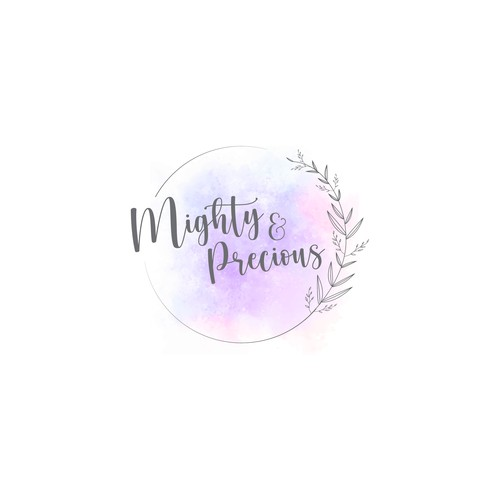 Logo for a Baby products store
