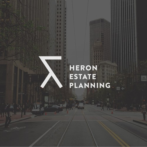 Heron Logo for an Estate Planning Firm