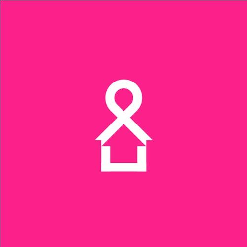 Pink ribbon + Home