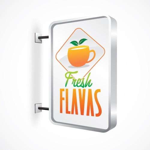 Create the next logo for Fresh Flavas