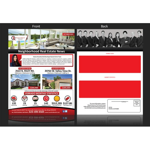 Real Estate Newsletter (both side)