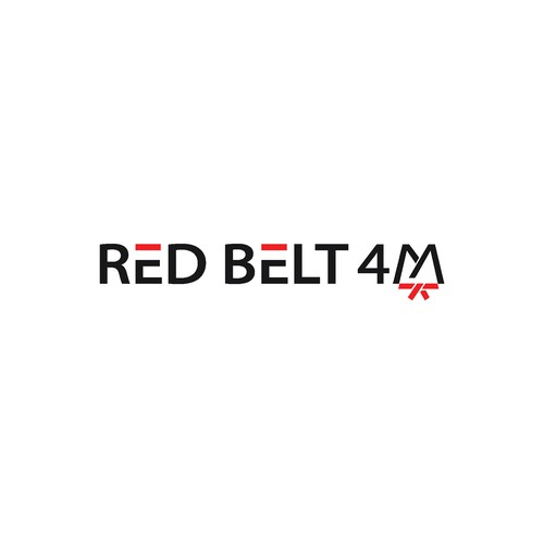 logo conceps for RED BELT 4M