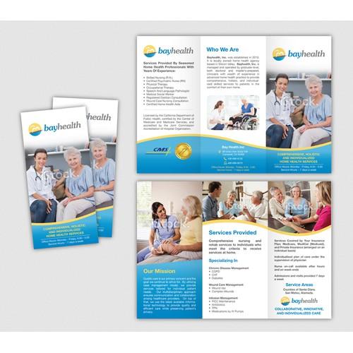 Create the next brochure design for Bayhealth Inc
