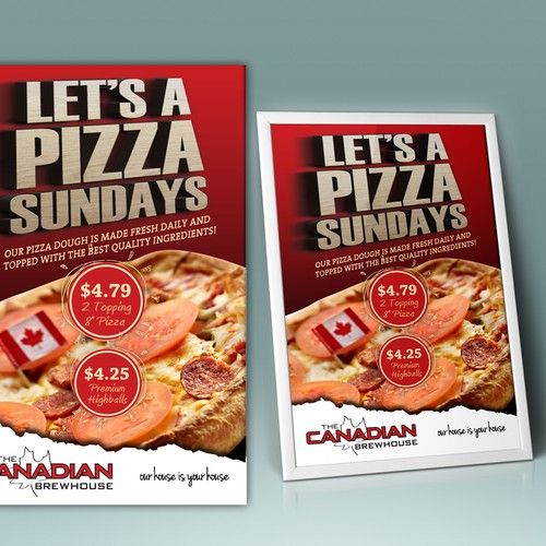 Poster for  Canadian Brewhouse - Sunday Special
