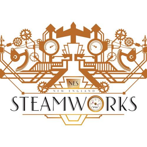 Steampunk / Art deco fusion