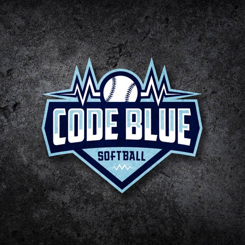Softball team logo