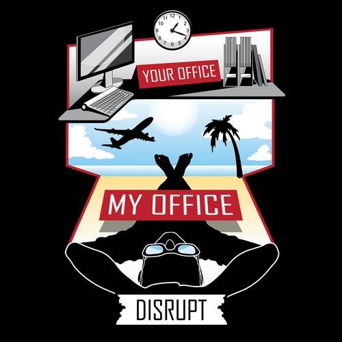 Tshirt Design for Disrupt