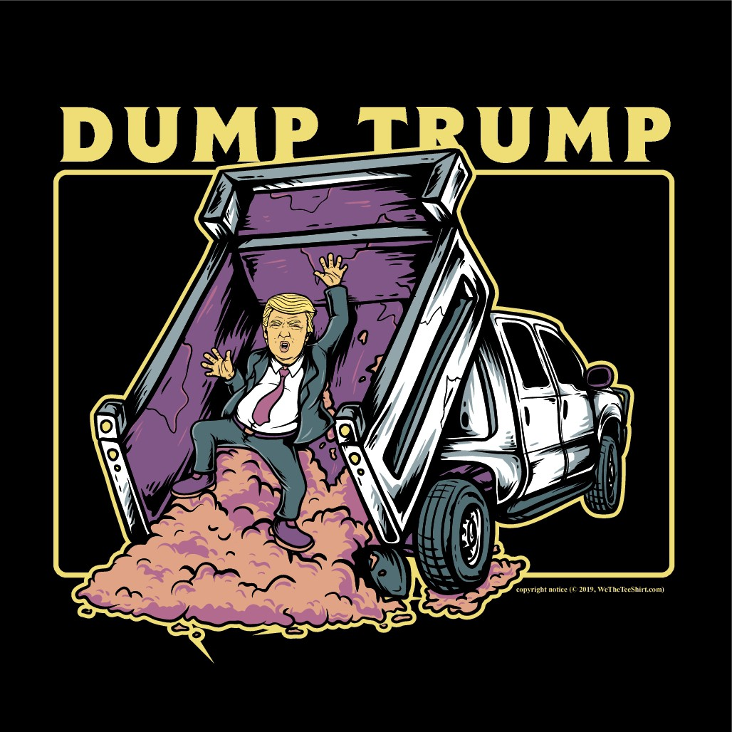 Anti-Trump T-shirt designs