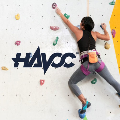 Wordmark logo for HAVOC - Climbing shoe model
