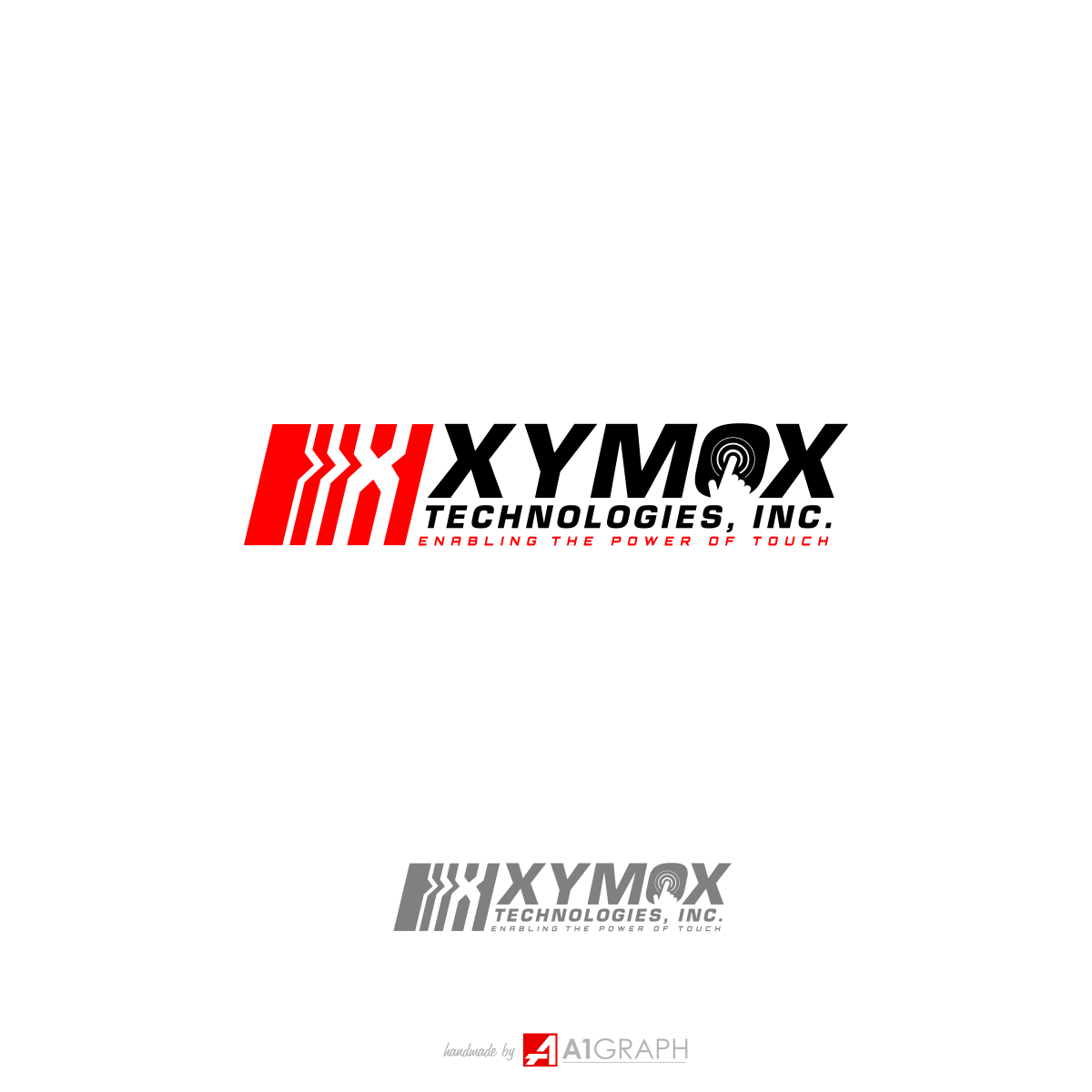 Xymox needs new slogan incorporated into logo