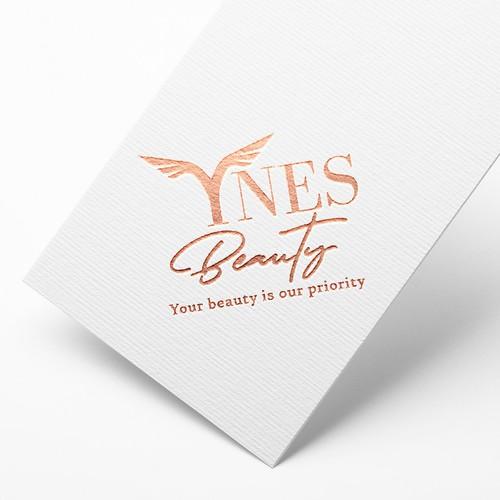 YNES BEAUTY Logo