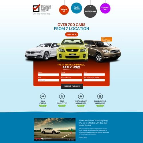Car Loan Website - Sample 1