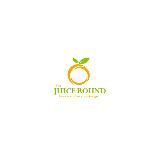 logo for The Juice Round (small 'the')