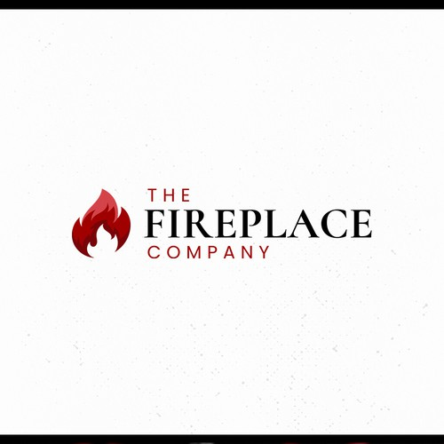 Modern logo for an old fireplace store