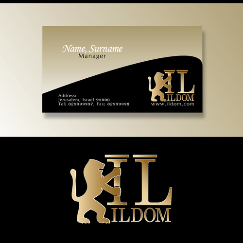 Logo and biz card for a boutique builder