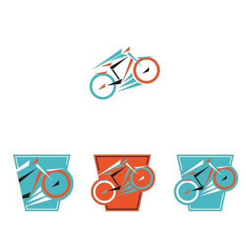 Bike repair service logo