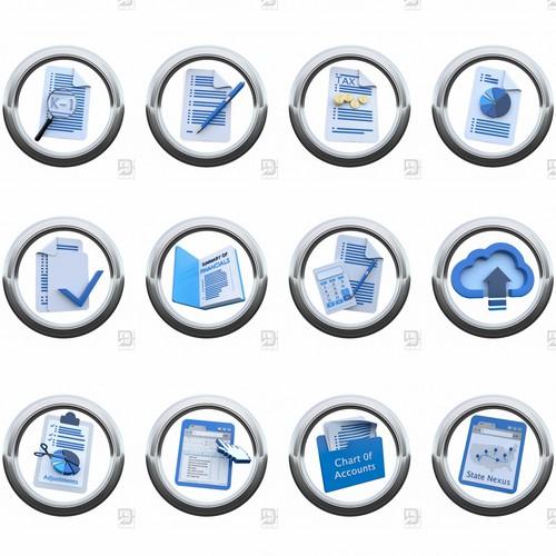 Branding icon design