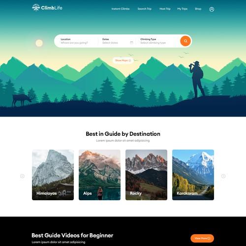 Climblife- uber for rock climbers