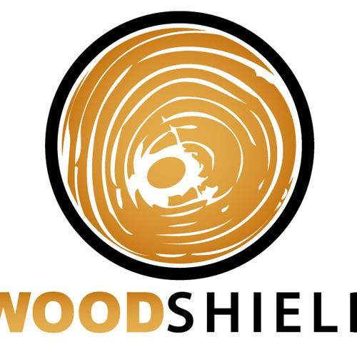 Logo design for Wood-Shield