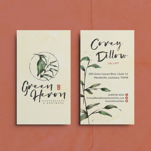 Brand Identity for an Acupuncturist
