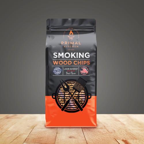 SMOKING WOOD CHIPS