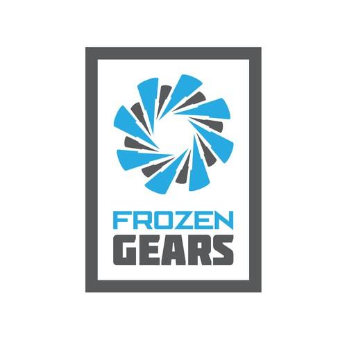 Logo concept for Frozen Gears