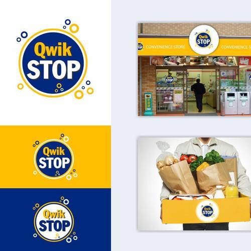 Runner-up logo option for Stores Chain