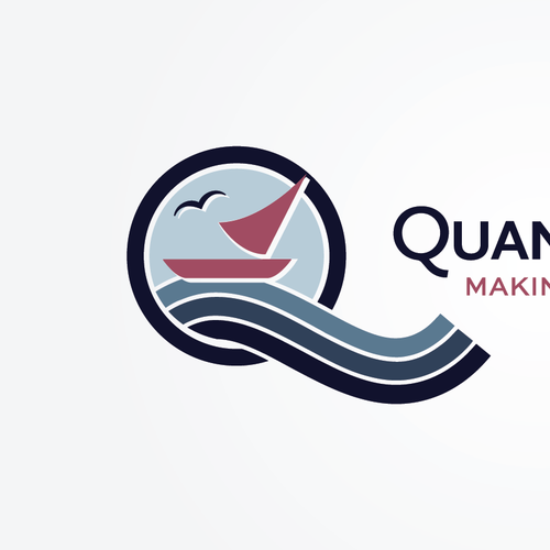 Captivate me with a logo for Quantum Benefit
