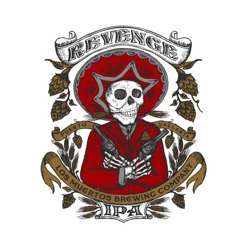 Los Muertos Brewing t-shirt