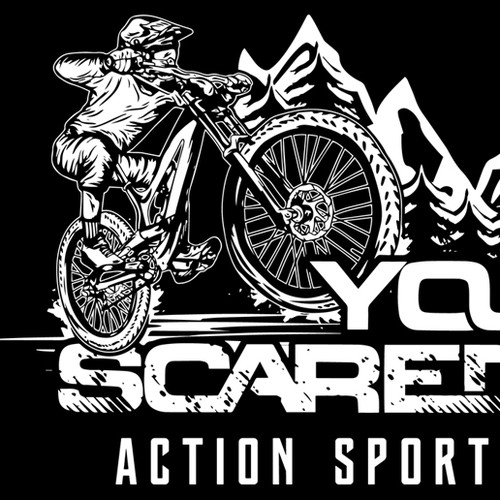 You Scared? T-shirt design
