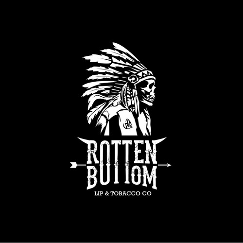 Logo design for Rotten bottom