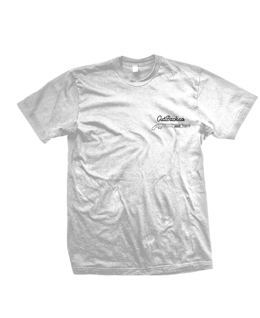 """Peace Through Superior Fire Power"" T-Shirt Design"