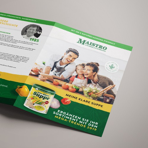 MAISTRO Brochure for retail & wholesale
