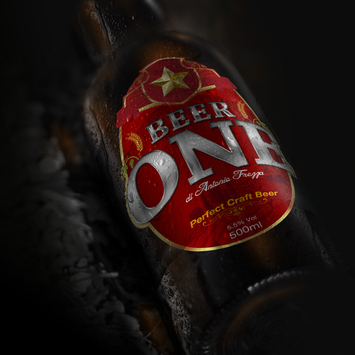 Label Design for Beer ONE