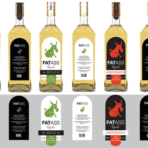 Line extension of Fat Ass tequila.