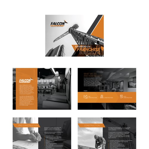 Falcon Brochure Design
