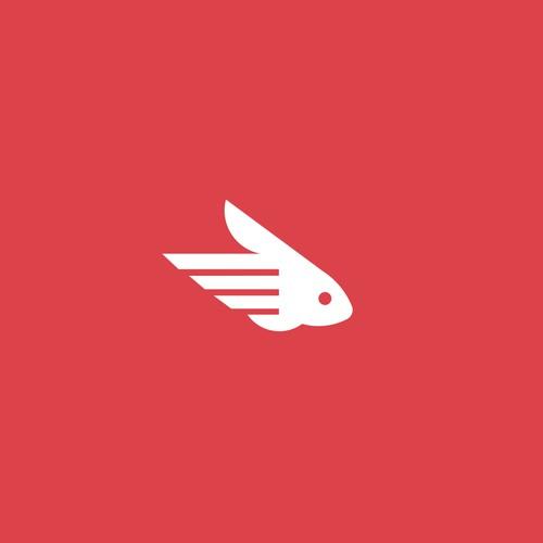 flying rabbit logo