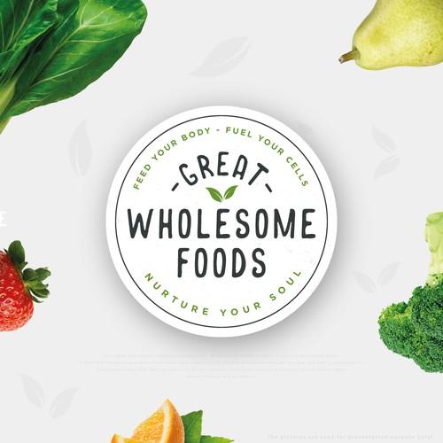 Logo design for an online grocery shop