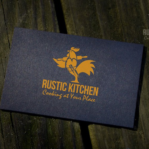 logo for a rooster which stand for rustic kitchen
