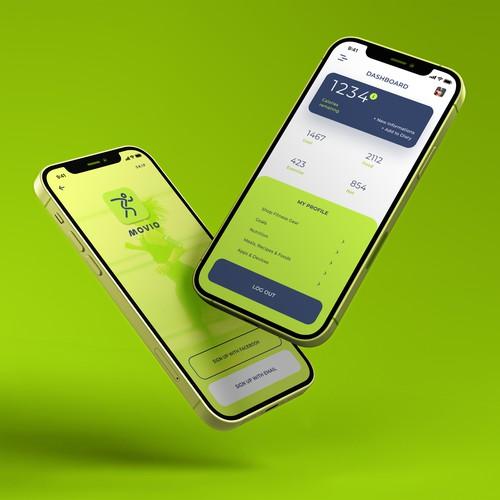 Movio app design