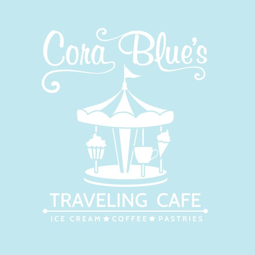 New logo wanted for Cora Blue's Traveling Cafe