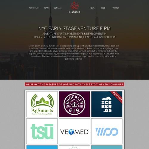 Nucleus Web Site Design