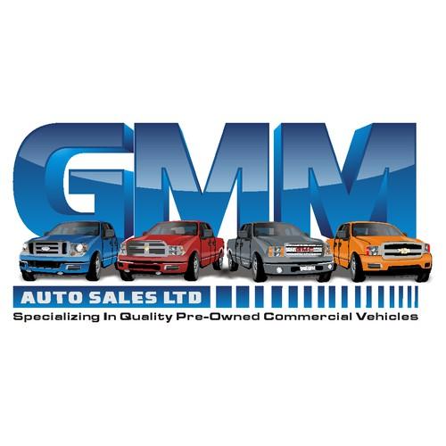 logo for GMM Auto Sales LTD